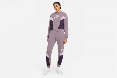 Sudadera Nike Sportswear Heritage morada