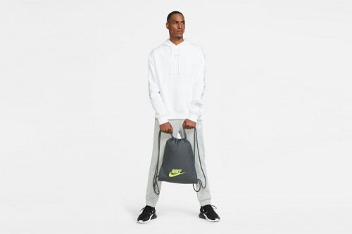 Mochila Nike Heritage 2.0 Gym Sack gris