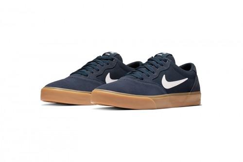 Zapatillas Nike SB Chron Solarsoft Skate Negras