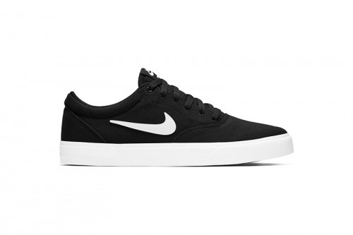 Zapatillas Nike SB Charge Canvas Skate Negras
