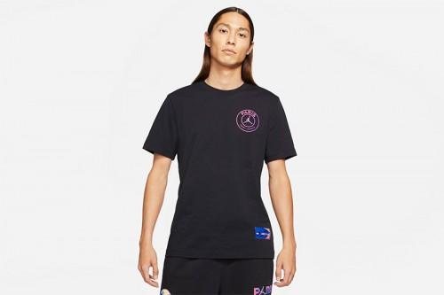 Camiseta Nike Paris Saint-Germain negra