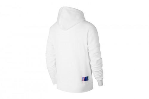 Sudadera Nike Paris Saint-Germain Fleece blanca
