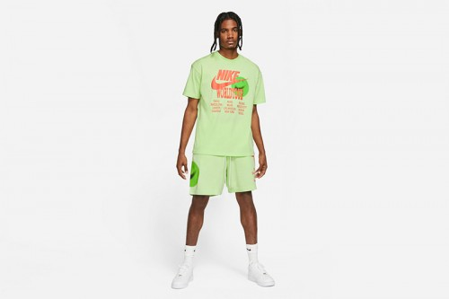 Pantalón Nike Sportswear French Terry verde