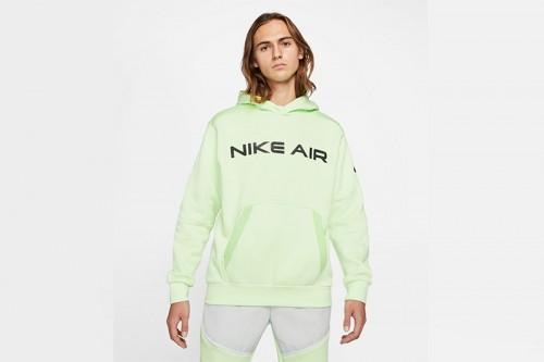 Sudadera Nike Air Pullover Fleece verde