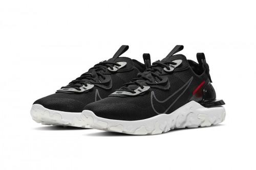 Zapatillas Nike React Vision 3M Negras