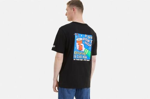 Camiseta Puma Downtown Graphic Tee negra