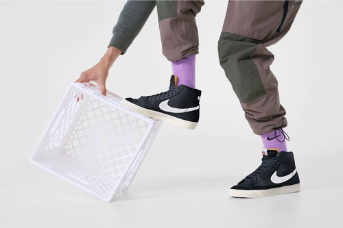 Zapatillas Nike Blazer Mid '77 Vintage Negras