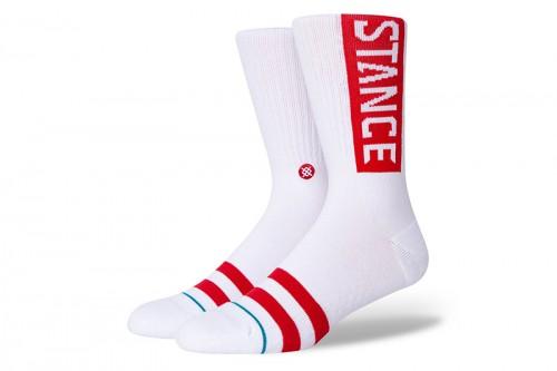 Calcetines Stance OG blancos