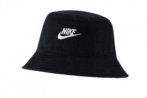 Gorro Nike NSW BUCKET FUTURA CORDUROY negro
