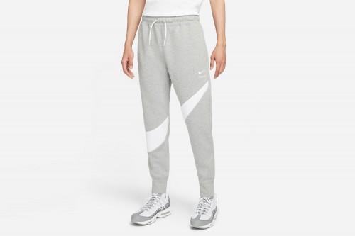 Pantalón Nike Sportswear Swoosh Tech Fleece gris
