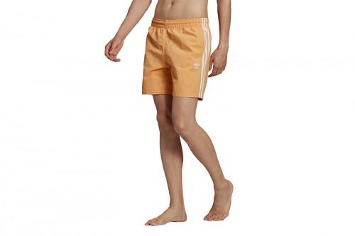 Bañador adidas 3-STRIPE SWIMS amarillo