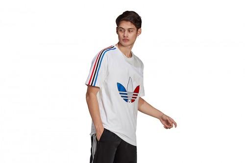 Camiseta adidas TRICOL TEE 2 Blancas