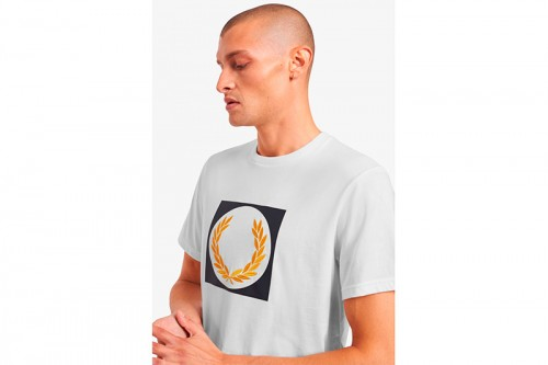 Camiseta Fred Perry Q12553129 blanca
