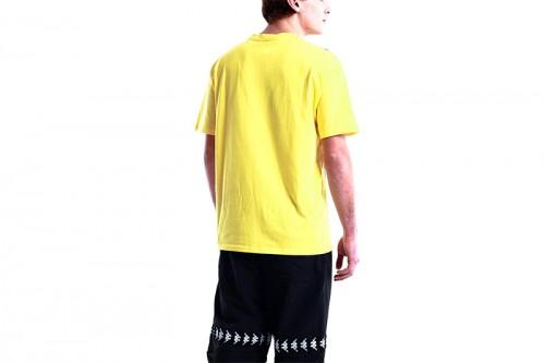 Camiseta Kappa ECOP Amarillas