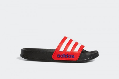 Chanclas adidas ADILETTE SHOWER K Negras