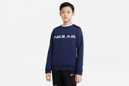 Sudadera Nike Nike Air Big Kids azul