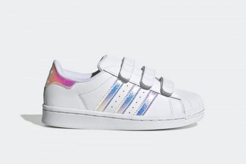 Zapatillas adidas SUPERSTAR CF C Blancas