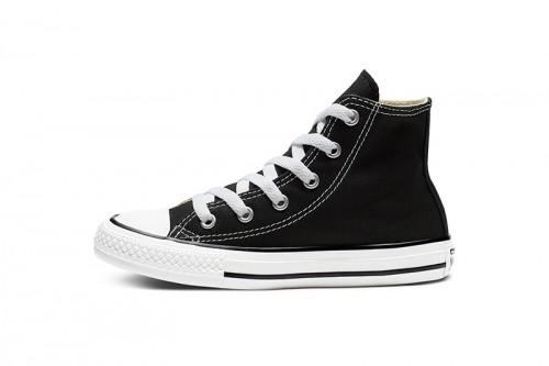Zapatillas Converse YTHS C/T ALLSTAR HI BLACK Negras