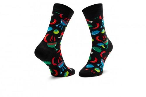 Calcetines Happy Socks BARBEQUE SOCK negros