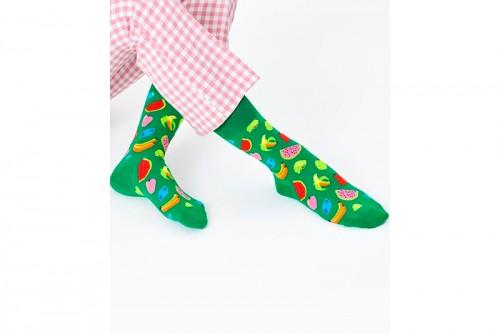 Calcetines Happy Socks FRUIT STACK SOCK Verdes