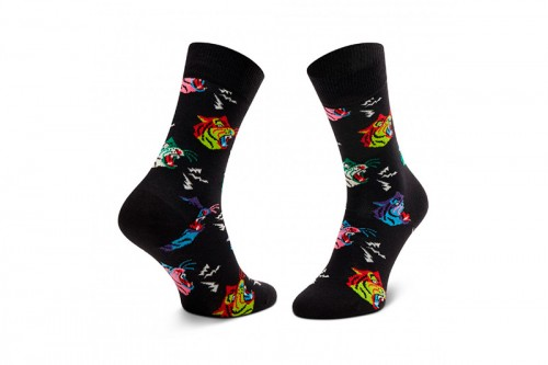 Calcetines Happy Socks TIGER SOCK negros