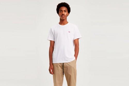 Camiseta Levi´s CAMISETA M/C CHICO BLANCA Blanca
