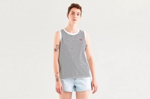 Camiseta Levi´s DARA TANK MORGAN STRIPE Multicolor