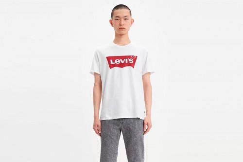 Camiseta Levi´s GRAPHIC SETIN NECK HM blanca