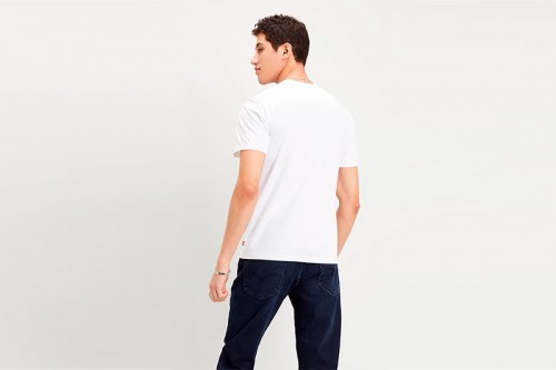 Camiseta Levi´s THE PERFECT TEE blanca