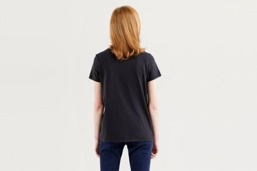 Camiseta Levi´s THE PERFECT TEE NEW LOGO II negra