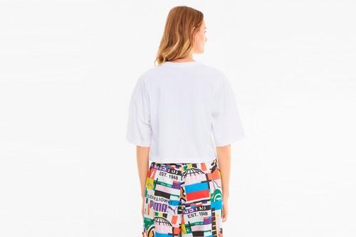 Camiseta Puma PI Graphic Tee blanca