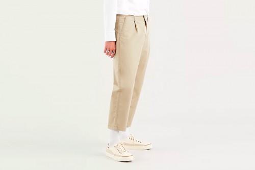 Pantalón Levi´s XX STALY LOOSE PLT beige