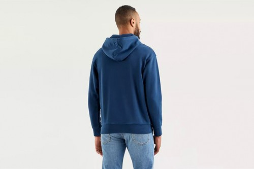 Sudadera Levi´s RELAXED GRAPHIC HOODIE azul