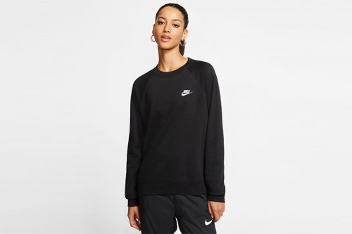 sudaderas Nike Sportswear Essential Negras