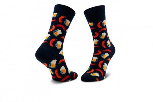 Zapatillas Happy Socks BEER AND SAUSAGE SOCK Negras
