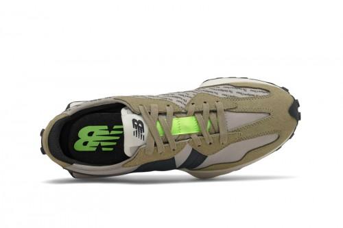 Zapatillas New Balance 327 Aluminium Grises