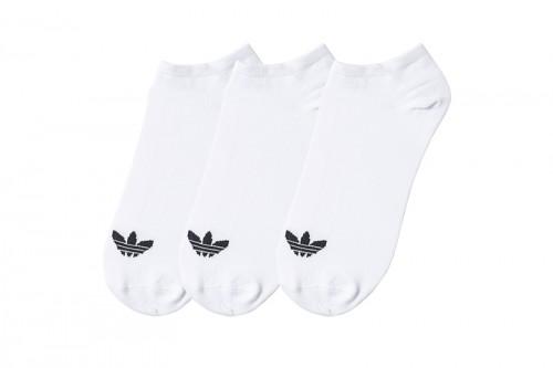 Calcetines adidas TREFOIL LINER blancos