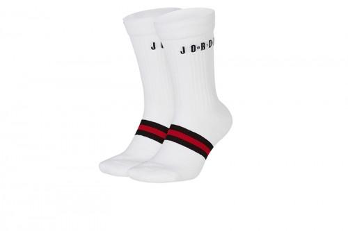 Calcetines Nike Jordan Legacy Crew blancos