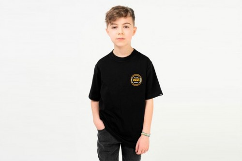 Camiseta Vans AUTHENTIC CHECKER Negras