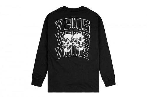 Camiseta Vans NEW VARSITY Negra