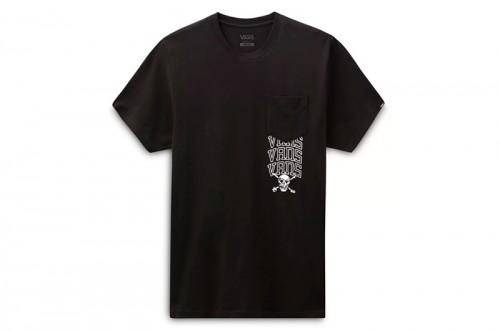 Camiseta Vans NEW VARSITY POCKET Negra