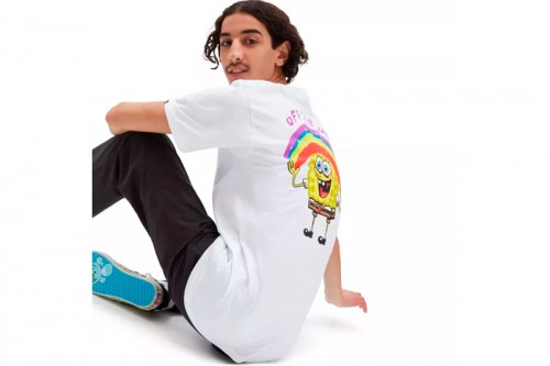 Camiseta Vans X BOB ESPONJA IMAGINAAATION Blanca
