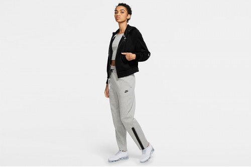 Sudadera Nike Air Full-Zip Fleece Negras