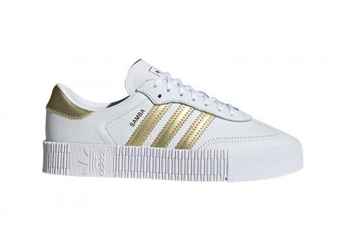 Zapatillas adidas SAMBAROSE Blancas