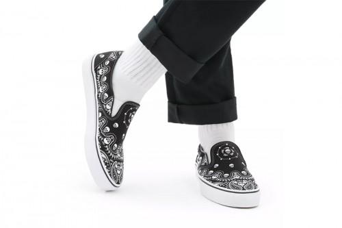 Zapatillas Vans Classic Slip-On Negras