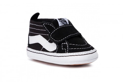 Zapatillas Vans de bebé SK8-Hi Crib Negras