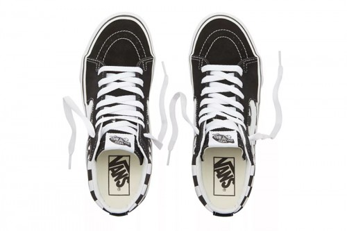Zapatillas Vans SK8-Hi Plataforma 2.0 Negras