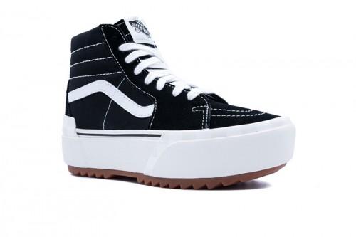Zapatillas Vans SK8-Hi Stacked plataforma Negras
