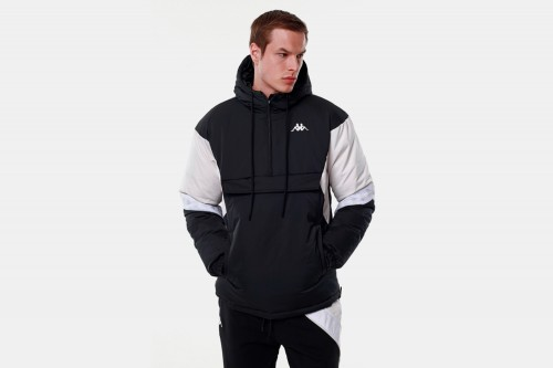 abrigo Kappa DABEN negro