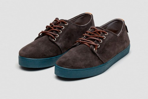 Zapatos POMPEII HIGBY CHARCOAL NAVY HYDRO Grises